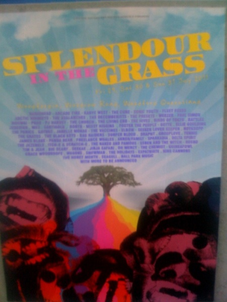 Splendour In The Grass line up fake?